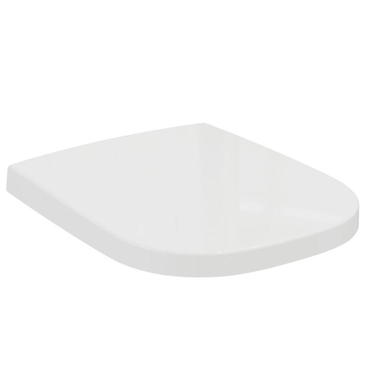 Wc doska Ideal Standard SoftMood z duroplastu v bielej farbe T639101