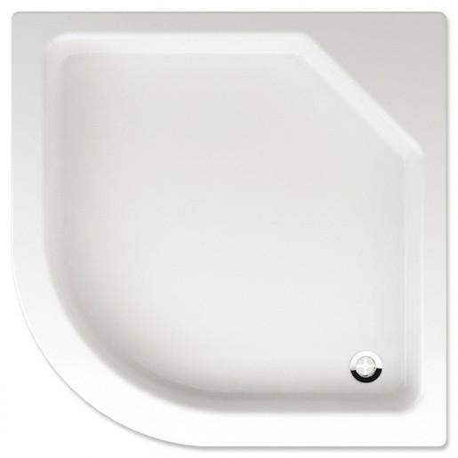 Sprchová vanička štvrťkruhová Teiko Taurus 90x90 cm akrylát V131090N32T01001