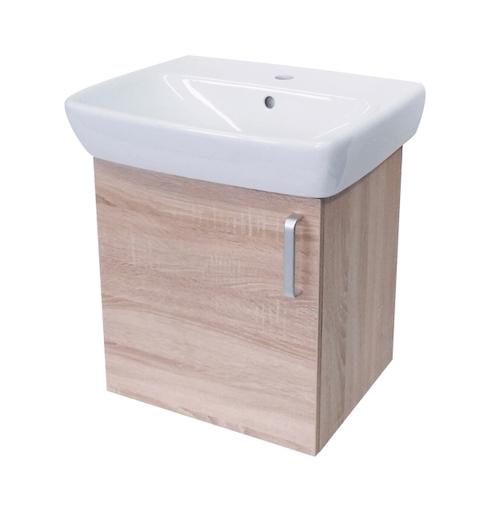 Kúpeľňová skrinka s umývadlom Naturel Vario Dekor 50x42 cm dub bardolino VARIO50DBDB