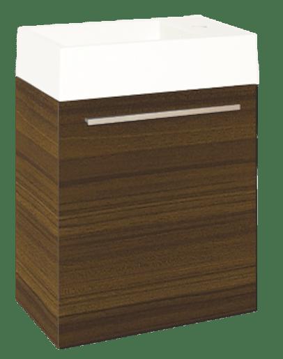 Kúpeľňová skrinka s umývadlom Naturel Verona 46x26 cm hneda VERONA46BN