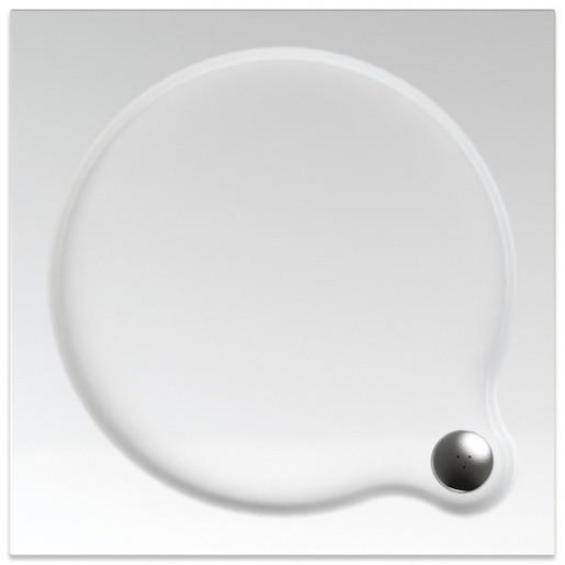 Sprchová vanička štvorcová Teiko Venus 80x80 cm akrylát V134080N32T04001