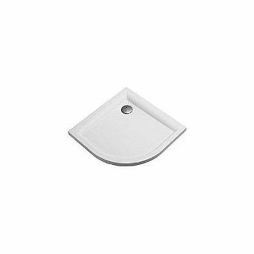 Sprchová vanička štvrťkruhová Kolo Pacifik 90x90 cm akrylát XBN0790000