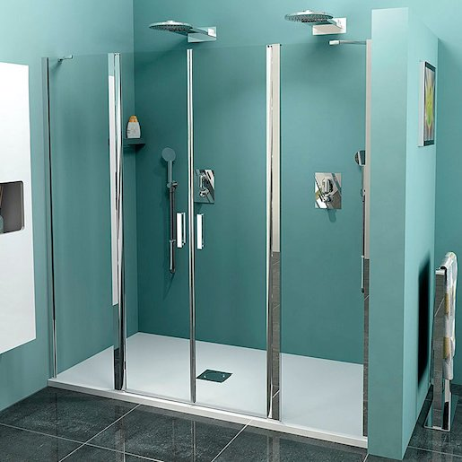 Sprchové dvere 180x200 cm Polysan Zoom chróm lesklý ZL1417