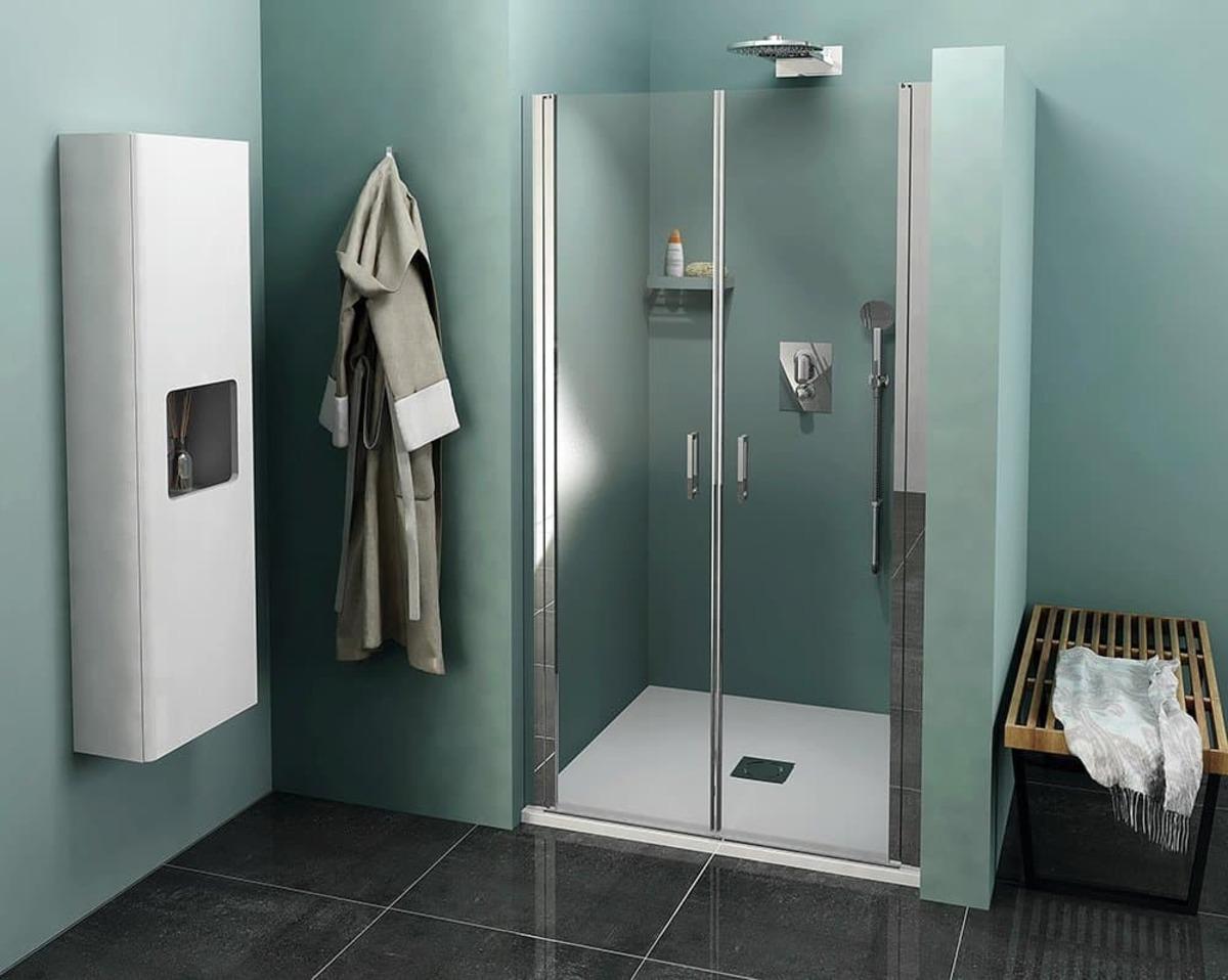 Sprchové dvere 900x1900 Polysan Zoom chróm lesklý ZL1790