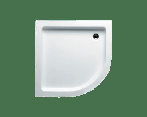 Sprchová vanička štvrťkruhová Riho 207 90x90 cm akrylát DA2100500000000