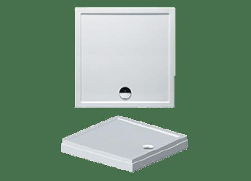 Sprchová vanička obdĺžniková Riho Davos 100x90 cm akrylát DA6100500000000