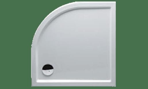 Sprchová vanička štvrťkruhová Riho Zürich 90x90 cm akrylát DA8800500000000