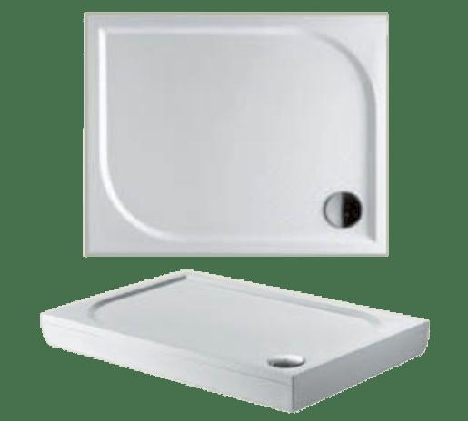 Sprchová vanička obdĺžniková Riho Kolping 100x90 cm liaty mramor DB3200500000000