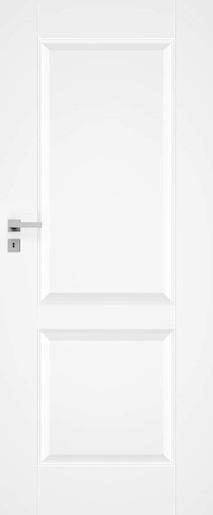 Interiérové dvere Naturel Nestra pravé 60 cm biele NESTRA1060P