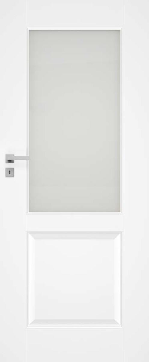 Interiérové dvere Naturel Nestra ľavé 60 cm biele NESTRA1160L