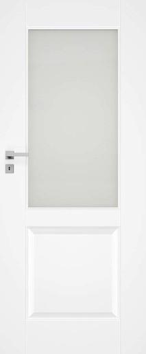 Interiérové dvere Naturel Nestra pravé 60 cm biele NESTRA1160P