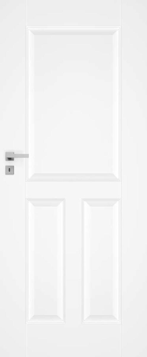 Interiérové dvere Naturel Nestra ľavé 60 cm biele NESTRA160L