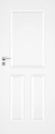 Interiérové dvere Naturel Nestra pravé 60 cm biele NESTRA160P
