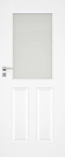 Interiérové dvere Naturel Nestra pravé 60 cm biele NESTRA260P