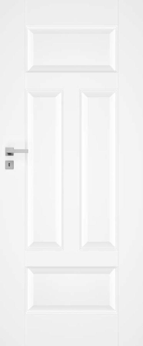 Interiérové dvere Naturel Nestra ľavé 60 cm biele NESTRA360L